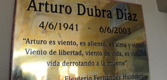 Palabras de recuerdo al compañero Arturo Dubra