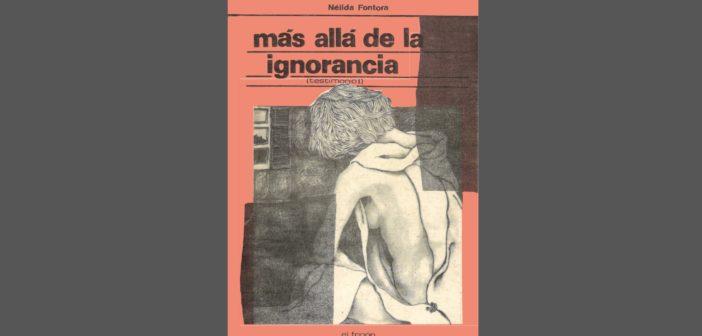 Nélida Chela Fontora – 1989 – Mas allá de la ignorancia
