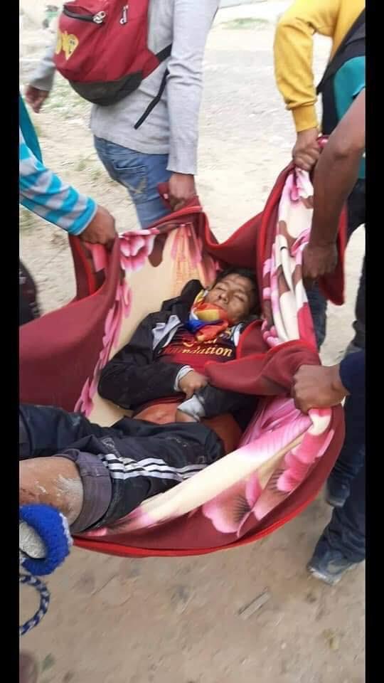 represion bolivia
